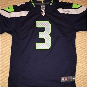 Seattle Seahawks jersey Russel Wilson
